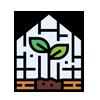 تولید قطعات و تجهيزات گلخانه