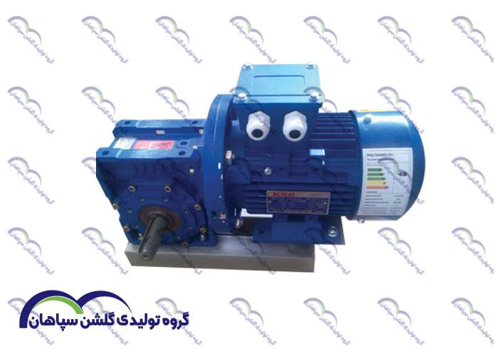 الکترو موتور فلنج دار برقی